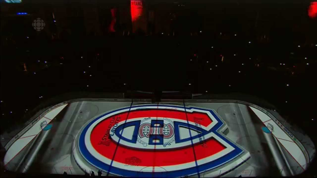3d Music Wallpaper Montreal Canadiens Pre Game Show Stanley Cup Playoffs
