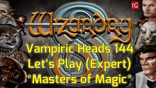 Let's Play Wizardry 8 on Expert: Vampiric Heads #144 PC Gameplay HD