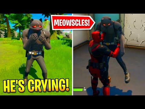 What's Happened To Meowscles After The DEADPOOL Takeover In Fortnite?