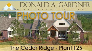 The Cedar Ridge - House Plan #1125 - Craftsman Home