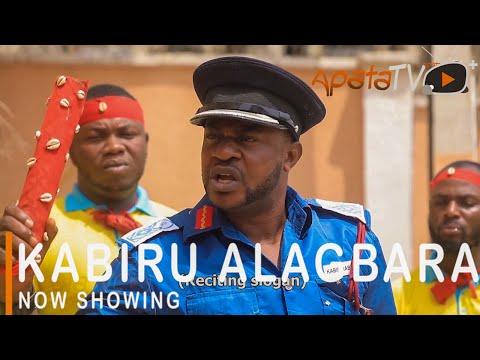 Kabiru Alagbara Latest Yoruba Movie 2021 Drama Starring Odunlade Adekola | Olayemi Jimoh | Sanyeri