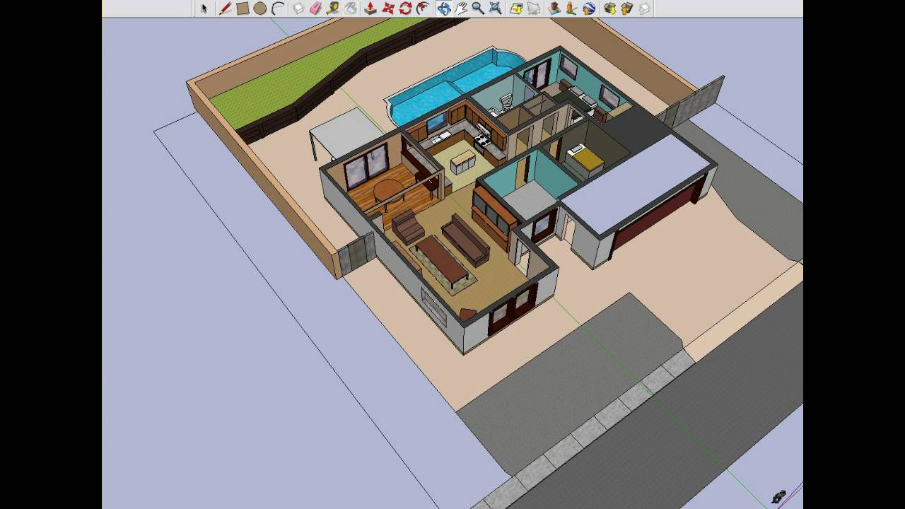 Making Walter Whites House With Google Skecth Up Youtube
