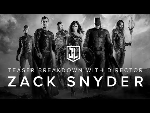 OFFICIAL Justice League Breakdown with Zack Snyder by VERO True Social.