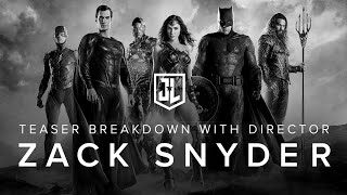 OFFICIAL Justice League Teaser Breakdown with Zack Snyder