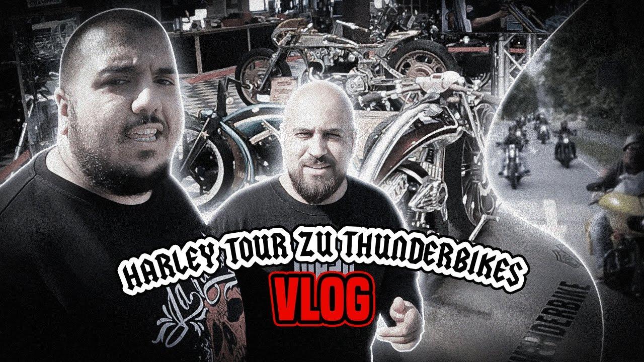 Harley Tour mit @Mazo Vlogs  und @Flaschenkost  zu @Thunderbike    Cengiz44TV Vlog