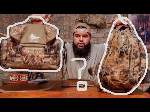 Sling Pack Vs Blind Bag - Best Duck Hunting Packs