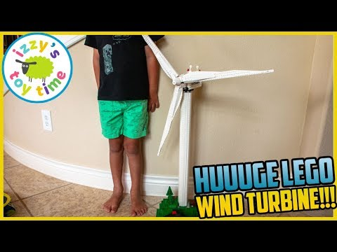 This is the COOLEST LEGO Build EVER. LEGO Wind Turbine! Fun Toys for Kids!