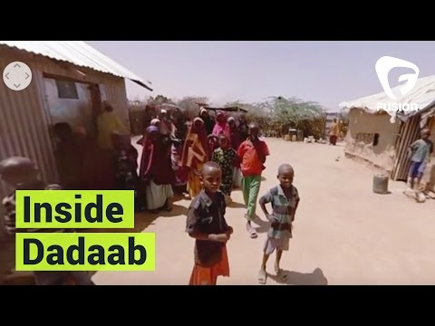 Inside The World's Largest Refugee Camp | Dadaab 360 VR Experience