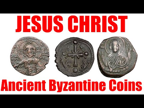 JESUS CHRIST Portrait on Ancient Byzantine Coins for Sale by Expert on eBay