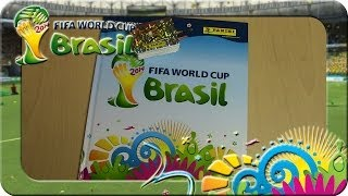 Panini Fifa World Cup Brasil 2014 Sticker Album Update