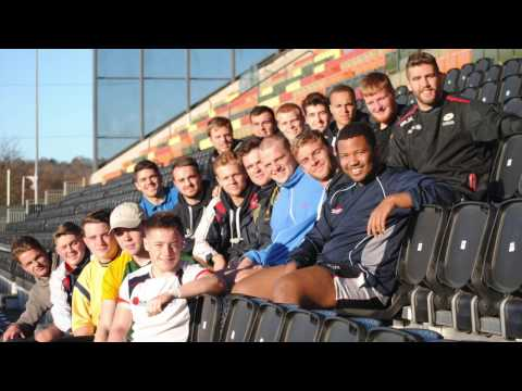 Check out our video of the University of Sussex Rugby by team training at Allianz Park.