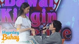 Magandang Buhay: Edward asks Maymay to be his Star Magic Ball date