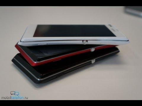 Sony Xperia L - предварительный обзор (preview)
