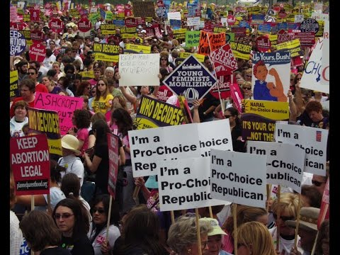 My Choice - March for Women's Lives, Washington DC, 2004