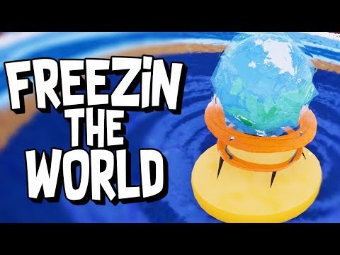 THE WORLD FREEZES OVER! - Hello Neighbor (Hello Neighbor Beta 3  Gameplay)