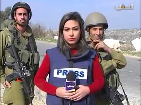 IDF Soldiers Interrupt Lying Palestinian Reporter