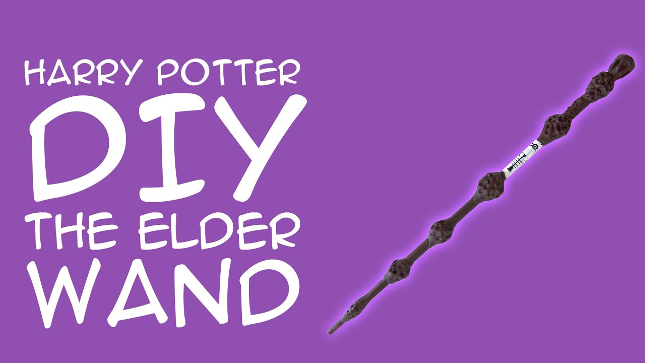 Harry Potter Craft The Elder Wand Diy For Harry Potter Fans