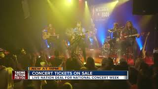 Live Nation announces $20 concert ticket deal in honor of National Concert Week