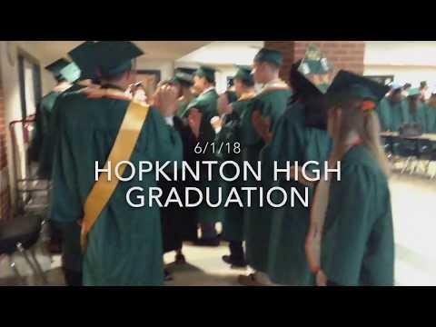 Hopkinton High School 2018 graduation