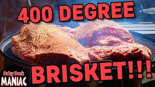 How to Cook Competition Brisket (Wagyu) Hot and Fast | 400 Degrees | Weber Smokey Mountain Harry Soo