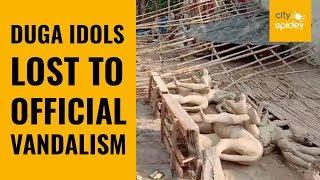 Noida devotees deprived of Durga idols