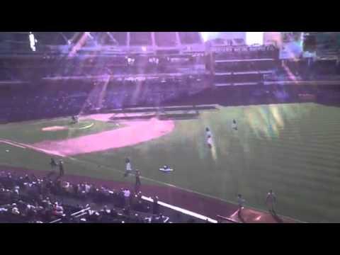 San Diego Padres Vs Colorado Rockies 21 July 2012