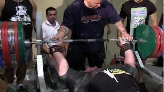 Scott Mendelson 1036 lbs Bench Press @ WPC World Championships
