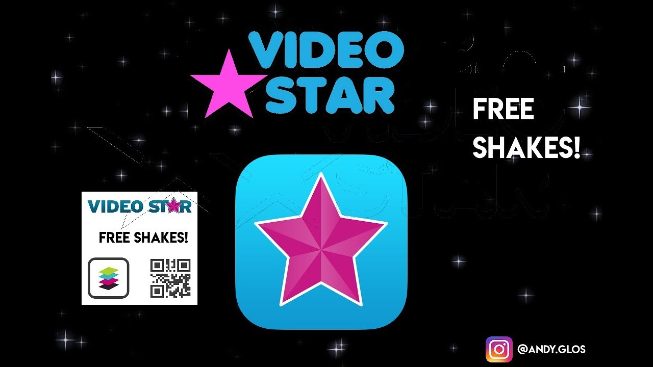 Free Video Star Qr Codes 10 Shakes Plus Tutorial Youtube