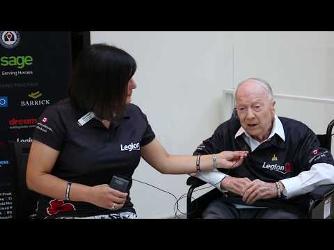Interview with 101 Year Old Veteran and Legionnaire, Norman Baker at the 2017 Invictus Games