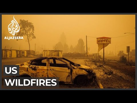 500,000 evacuated from Oregon as fires engulf US West Coast