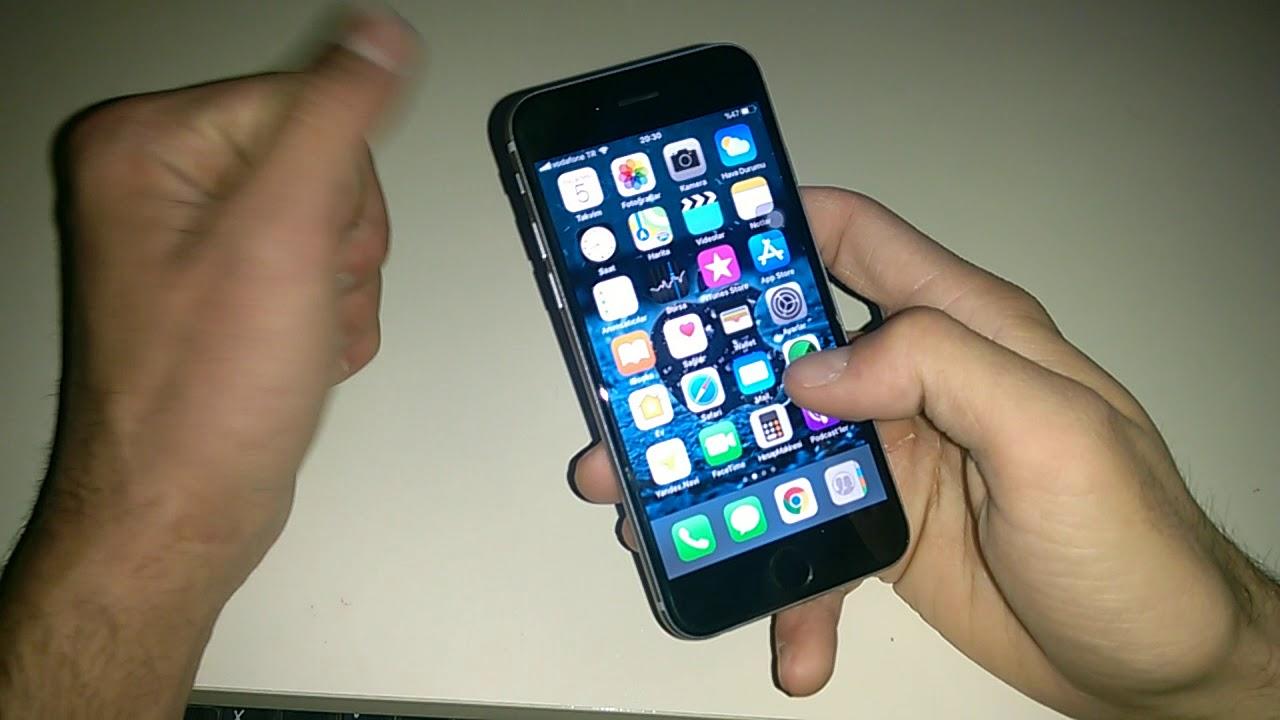 İphone 6s'in bilinmeyen özellikleri