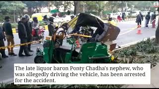 Late Liquor baron Ponty Chadha's newphew arrested for road accident