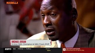 Michael Jordan Reacts to LeBron James Saying Hes the GOAT 'I actually CRINGED'