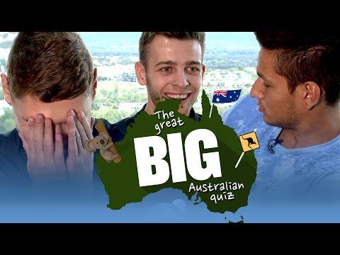 WHAT'S THE CAPITAL OF AUSTRALIA? | The Great Big Australia Quiz | City on Tour 2015