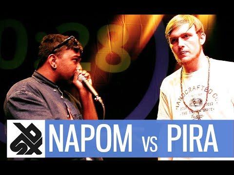 NAPOM Vs PIRATHEEBAN |  Shootout Beatbox Battle 2017  |  FINAL