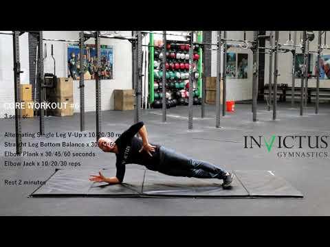 Core Workout #6 - Invictus Gymnastics