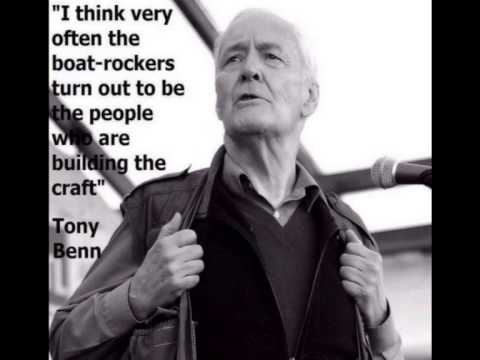 Tony Benn. My vision of socialism  Marxism 2003