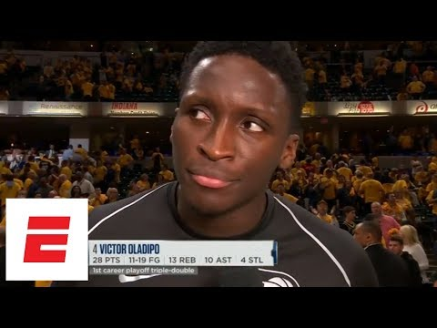Victor Oladipo after 28/13/10 triple-double: 'I just got out of my own way' | ESPN