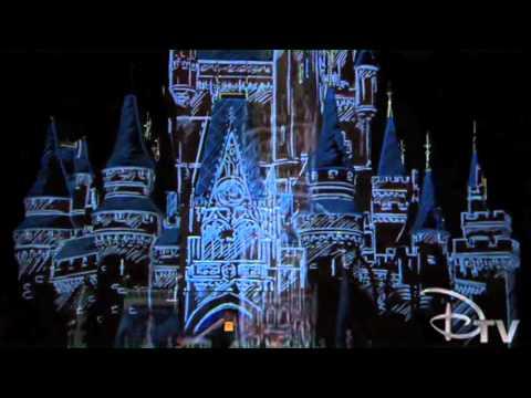 Let the Memories Begin - Cinderella Castle Projection test
