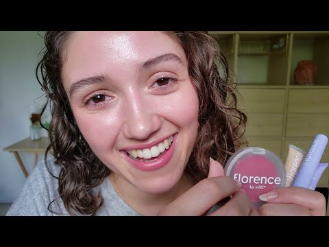ASMR Full Face Of Florence By Mills 🐳 Chill Makeup Triggers