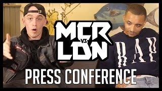 Manchester Vs London: Press Conference | Don't Flop Media