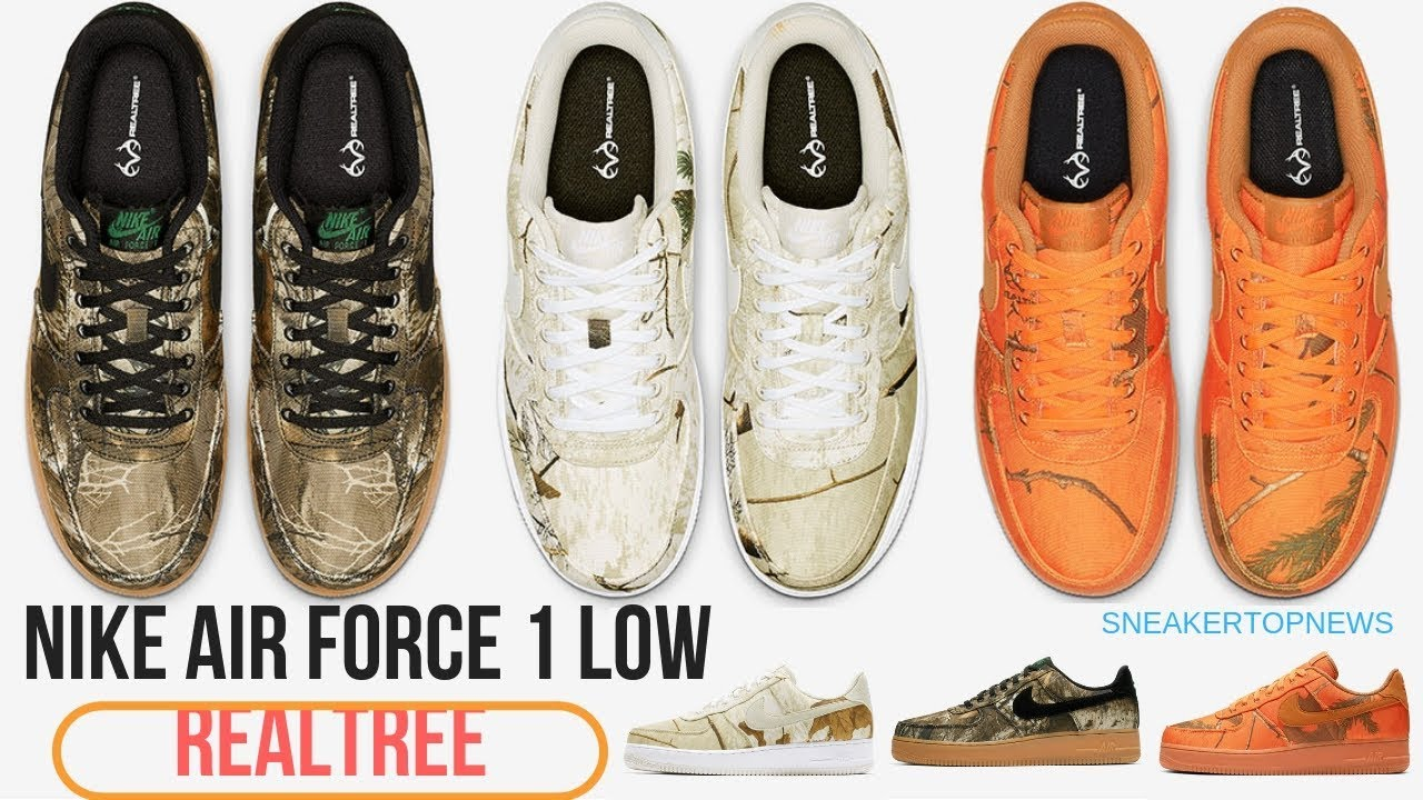 Nike Air Force 1 Realtree Camo Pack Is Dropping On January 4th