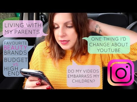 In-Car Q&A / Living With My Parents & One Thing I'd Change About YouTube