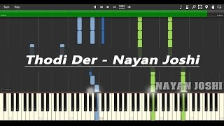 Thodi Der Piano With Notes