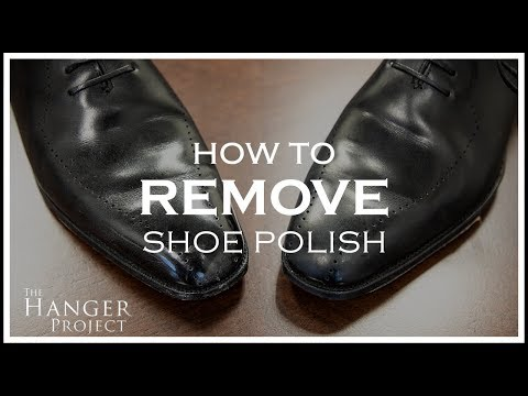 How To Remove Shoe Polish From Leather Shoes | Kirby Allison