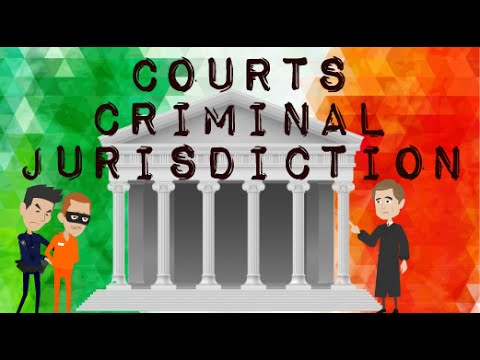 Criminal Jurisdiction in Ireland , Courts system explained