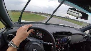 2018 Subaru BRZ tS - POV Track Test & Drifting