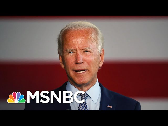 Joe Biden: 'If we can't unite America, we're done'
