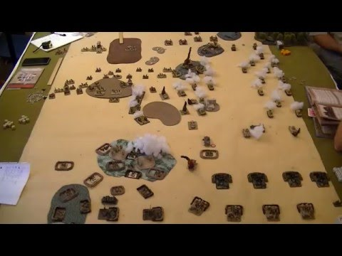 Flames of War - Italy v Britain (Early War North Africa)