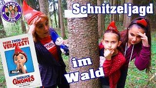 ABENTEUER  Schnitzeljagd im Wald - Auf den Spuren von Sherlock Gnomes | Family Fun